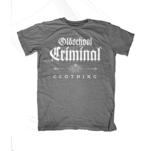 Oldschool Criminal Patch / grey